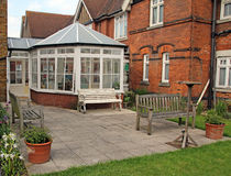 Victorian home and conservatory