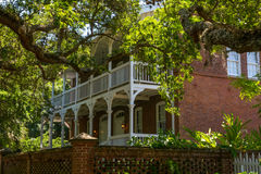 Victorian Home in St. Augustine Stock Photography
