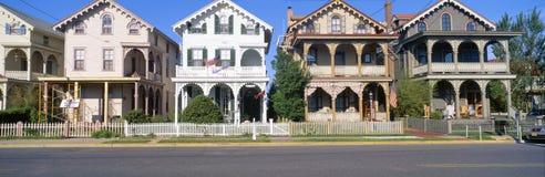 Victorian homes Stock Photos