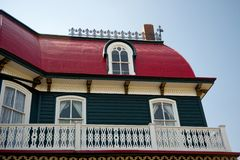 Victorian homes. Victorian home from the city of Cape May, NJ Stock Images