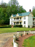Victorian hotel. A beautiful Victorian hotel in an big park in the hills of Virginia Royalty Free Stock Image