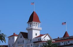 Victorian Hotel. On Coronado Island Stock Images
