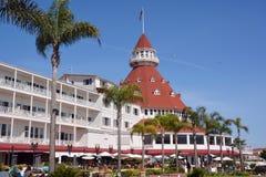 Victorian Hotel del科罗纳多 免版税库存图片