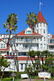 Victorian Hotel del Coronado. SAN DIEGO CA USA APRIL 8 2015: Victorian Hotel del Coronado in San Diego, USA. In the hotel was filmed famous comedy Some like it Royalty Free Stock Images
