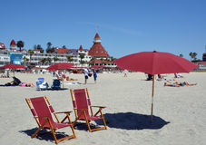 Victorian Hotel del Coronado Royalty Free Stock Photo