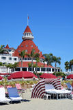 Victorian Hotel del Coronado. SAN DIEGO CA USA APRIL 8 2015: Victorian Hotel del Coronado in San Diego, USA. In the hotel was filmed famous comedy Some like it Stock Image
