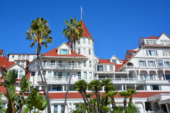 Victorian Hotel del Coronado. SAN DIEGO CA USA APRIL 8 2015: Victorian Hotel del Coronado in San Diego, USA. In the hotel was filmed famous comedy `Some like it Royalty Free Stock Photo