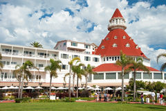 Victorian Hotel del Coronado in San Diego. SAN DIEGO, USA - OCTOBER 3, 2011: Victorian Hotel del Coronado on October 2, 2011 in San Diego, USA. In the hotel was Royalty Free Stock Images