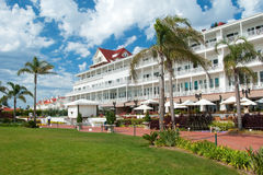 Victorian Hotel del Coronado in San Diego Stock Photos