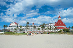 Victorian Hotel del Coronado in San Diego Stock Photo