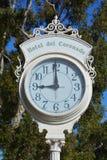 Victorian Hotel del Coronado Street klok Stock Foto's
