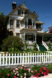 Victorian house. Beautiful victorian house during summertime Royalty Free Stock Photography
