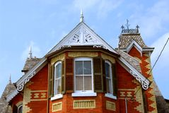 Victorian house Stock Images