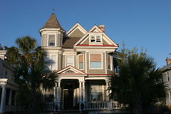 Victorian House. Historic victorian style house located in Charleston, South Carolina Royalty Free Stock Image