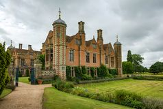 Victorian house Charlecote Park Royalty Free Stock Images