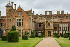 Victorian house Charlecote Park Stock Image