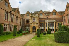 Victorian house Charlecote Park Royalty Free Stock Image