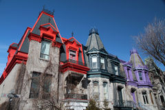 Free Victorian House Montreal 3 Royalty Free Stock Photography - 65911817