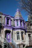 Victorian House Montreal 2 Royalty Free Stock Photo