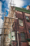 Victorian House Repair Royalty Free Stock Images