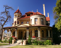 Victorian House San Antonio Royalty Free Stock Images