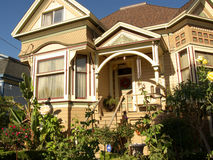 Victorian House San Jose Royalty Free Stock Image