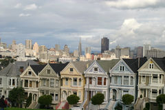 Victorian Houses Royalty Free Stock Image