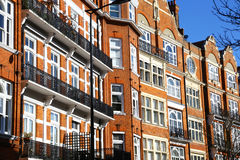 Victorian houses in London Royalty Free Stock Images