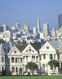 Victorian Houses, San Francisco, CA Stock Image