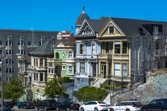 Victorian houses in San Francisco Royalty Free Stock Image