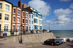 Victorian houses by the sea in England. Royalty Free Stock Photos
