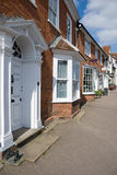 Victorian houses Suffolk UK Royalty Free Stock Photography