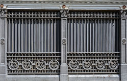 Victorian Iron Building Stock Image