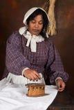 Victorian ironing Stock Photos