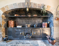 Victorian kitchen Stock Image