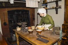 Victorian Kitchen Reconstruction In Chester England Stock Photos