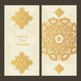 Victorian Lace Card Stock Photo