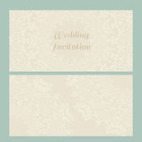 Victorian Lace Card Royalty Free Stock Images