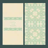 Victorian Lace Card Royalty Free Stock Photos