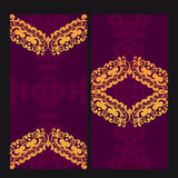 Victorian Lace Card Royalty Free Stock Photo