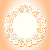 Victorian Lace Doily  Stock Images