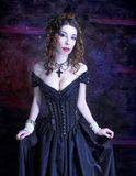 Victorian lady. Stock Image