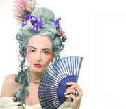 Victorian lady. Stock Photo