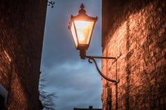 Victorian Lamp At Dawn royalty free stock photography