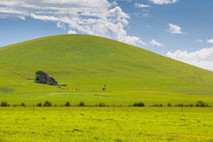Victorian Landscape in Spring Royalty Free Stock Images
