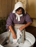 Victorian laundry Stock Image