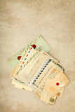 Victorian letters Royalty Free Stock Images