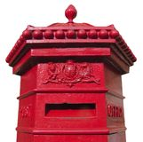 Victorian mail box Royalty Free Stock Image