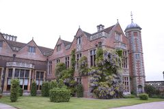 Victorian Manor House located in Warwickshire, England royalty free stock photography