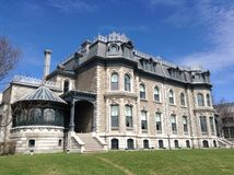 Victorian manor Montreal Royalty Free Stock Photography